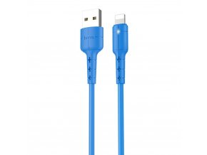 HOCO X30 USB kabel - iPhone lightning 1,2m / 2A modrý