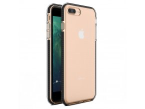 "Spring Case TPU pouzdro pro Apple iPhone 7+ / 8+ (5,5"") clear / black"