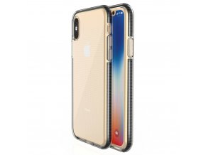 Spring Case TPU pouzdro pro Apple iPhone X / Xs clear / black