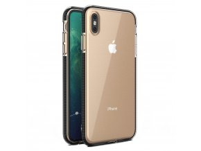 Spring Case TPU pouzdro pro Apple iPhone Xs MAX clear / black