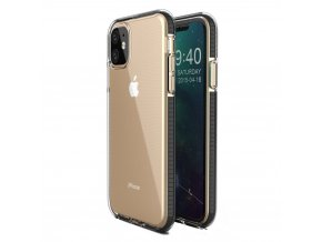 Spring Case TPU pouzdro pro Apple iPhone 11 clear / black