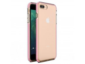"Spring Case TPU pouzdro pro Apple iPhone 7+ / 8+ (5,5"") clear / light pink"