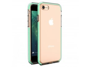 "Spring Case TPU pouzdro pro Apple iPhone 7 / 8 (4,7"") / SE 2020 clear / mint"