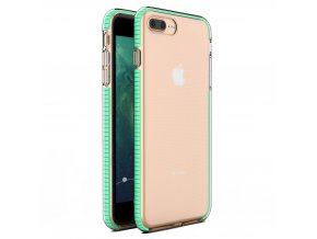 "Spring Case TPU pouzdro pro Apple iPhone 7+ / 8+ (5,5"") clear / mint"