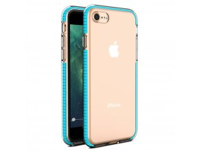 "Spring Case TPU pouzdro pro Apple iPhone 7 / 8 (4,7"") / SE 2020 clear / light blue"