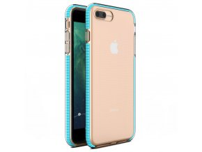"Spring Case TPU pouzdro pro Apple iPhone 7+ / 8+ (5,5"") clear / light blue"