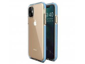 Spring Case TPU pouzdro pro Apple iPhone 11 clear / light blue