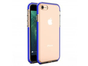 "Spring Case TPU pouzdro pro Apple iPhone 7 / 8 (4,7"") / SE 2020 clear / blue"
