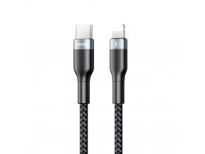 Remax RC-009 kabel USB-C PD / Apple Lightning 1m / 18W černý