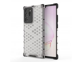 HoneyComb Armor Case odolné pouzdro pro Samsung N980 Galaxy NOTE 20 clear white