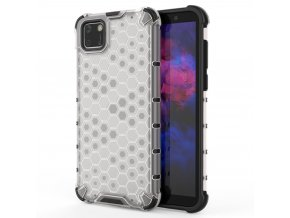 HoneyComb Armor Case odolné pouzdro pro Huawei Y5p clear white