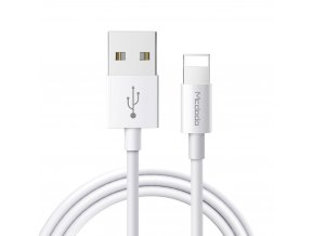 MCDODO CA-6020 USB kabel pro iPhone / Lightning 2A / 1m - bílý