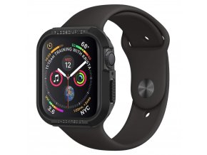 Spigen Rugged Armor Hybrid pouzdro / kryt k Apple Watch 4/5/6/SE - 44mm černý
