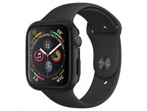 Spigen Thin Fit pouzdro / kryt k Apple Watch 4/5/6/SE - 44mm černý