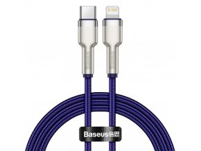 Baseus CATLJK-A05 kabel USB-C PD / Apple Lightning 20W / 1m / fialový