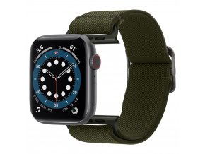 Spigen Fit Life řemínek k Apple Watch 2/3/4/5/6/SE 42mm/44mm khaki