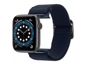 Spigen Fit Life řemínek k Apple Watch 2/3/4/5/6/SE 42mm/44mm navy blue