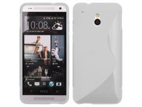 S Case pouzdro HTC One Mini (M4) transparent white