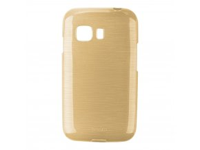 Pouzdro JELLY Case Metalic Samsung G130 Galaxy Young2 zlaté