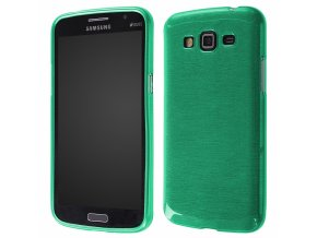 Pouzdro JELLY Case Metalic Samsung G7105 Galaxy Grand2 zelené