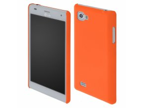 Coby Exclusive kryt LG P880 Optimus 4X HD orange / oranžový