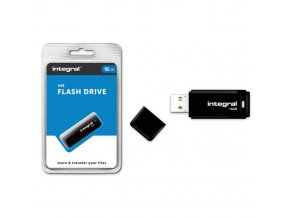 Integral USB 2.0 flash disk 16GB černý