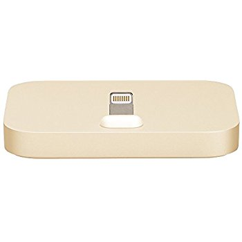 Apple ML8K2AM/A iPhone Lightning Dock champagne gold (blister)