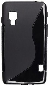 S Case pouzdro LG E460 Optimus L5 II black