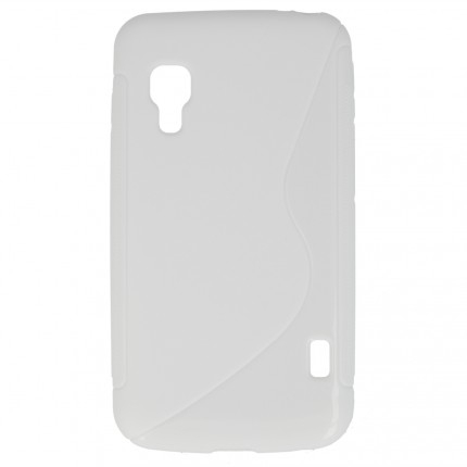 S Case pouzdro LG E455 Optimus L5 II Dual white
