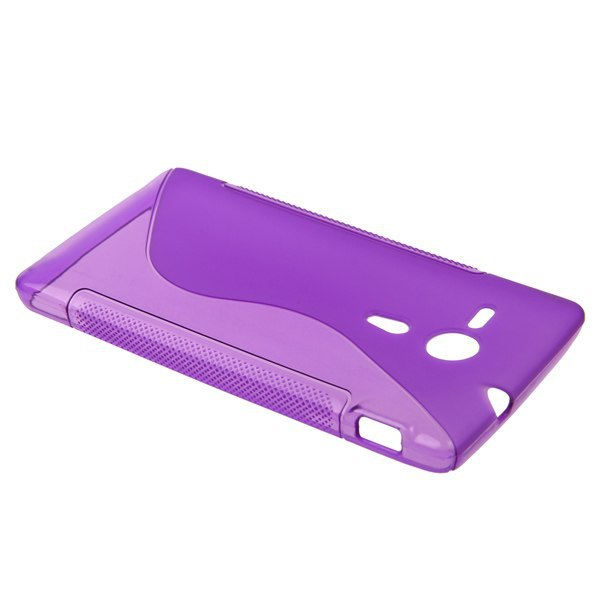S Case pouzdro Sony Xperia SP, C5303 purple