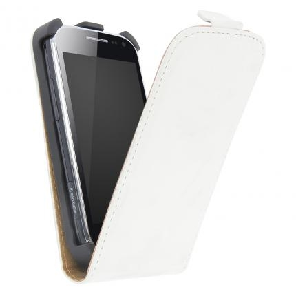 GT Exclusive pouzdro SAMSUNG S5360 Galaxy Y white + fólie na LCD