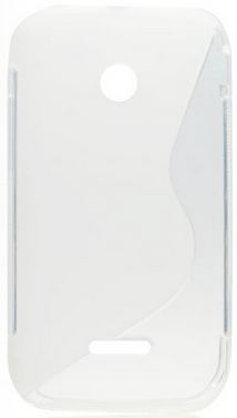 S Case pouzdro Huawei Ascend Y210 transparent white