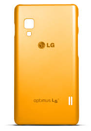 LG CCH-210 faceplate kryt E460 Optimus L5 II orange / oranžový