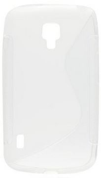 S Case pouzdro Samsung S7500 Galaxy Ace Plus transparent white
