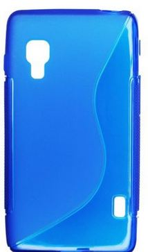 S Case pouzdro LG E460 Optimus L5 II blue