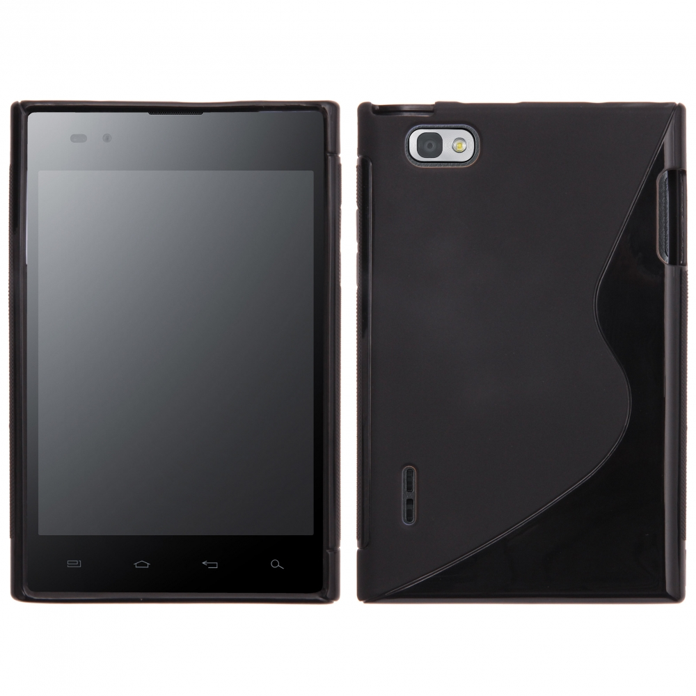 S Case pouzdro LG P895 Optimus VU black
