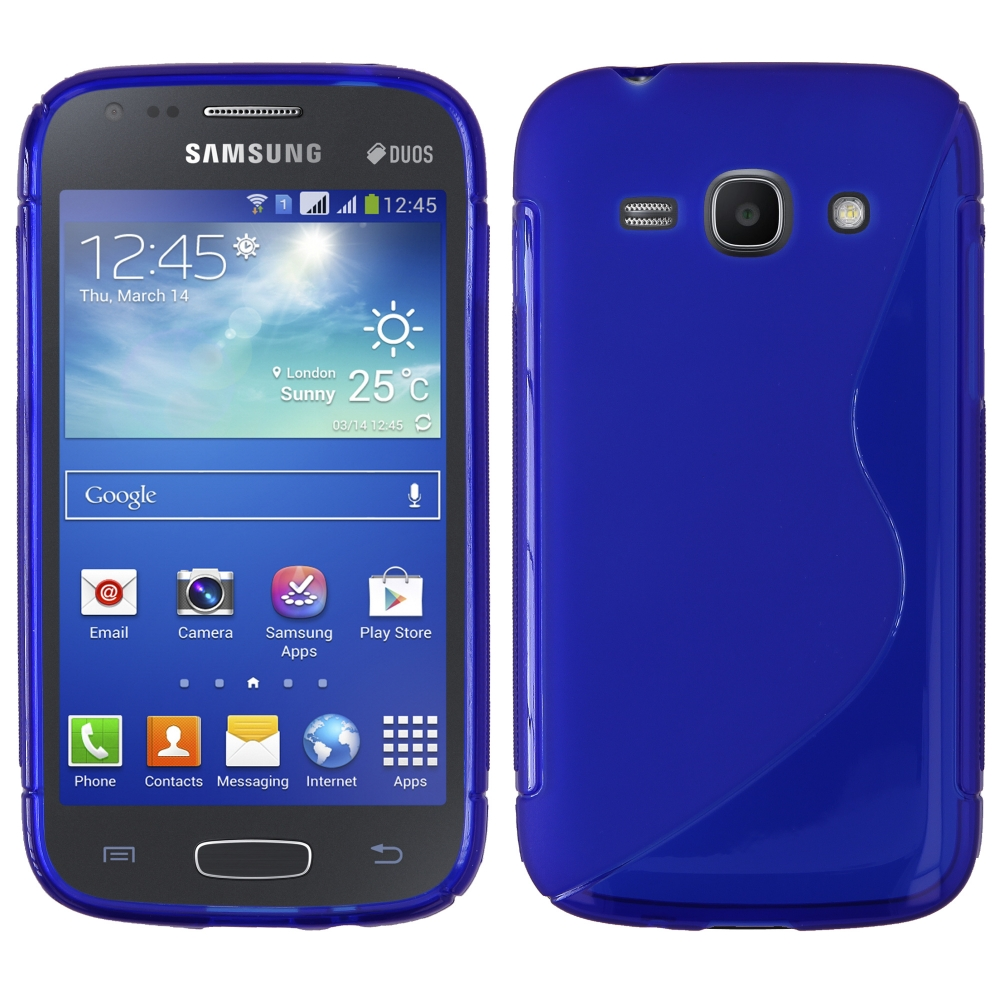 S Case pouzdro Samsung S7270 Galaxy Ace3 blue