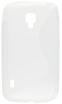 S Case pouzdro Alcatel One Touch Idol X (6033) transparent white