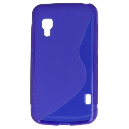 S Case pouzdro LG E455 Optimus L5 II Dual blue