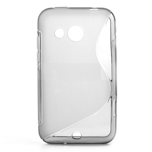 S Case pouzdro HTC Desire 200 transparent white