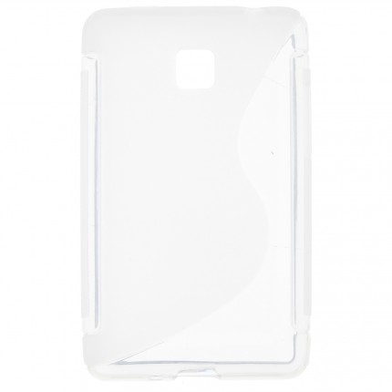 S Case pouzdro LG E430 Optimus L3 II transparent white