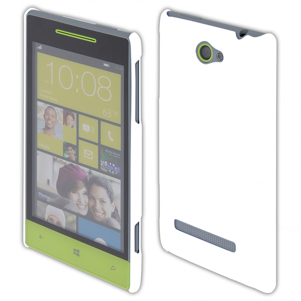 Coby Exclusive kryt HTC Windows Phone 8S white / bílý