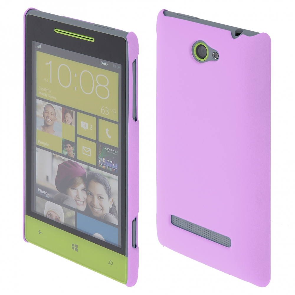 Coby Exclusive kryt HTC Windows Phone 8S purple / fialový