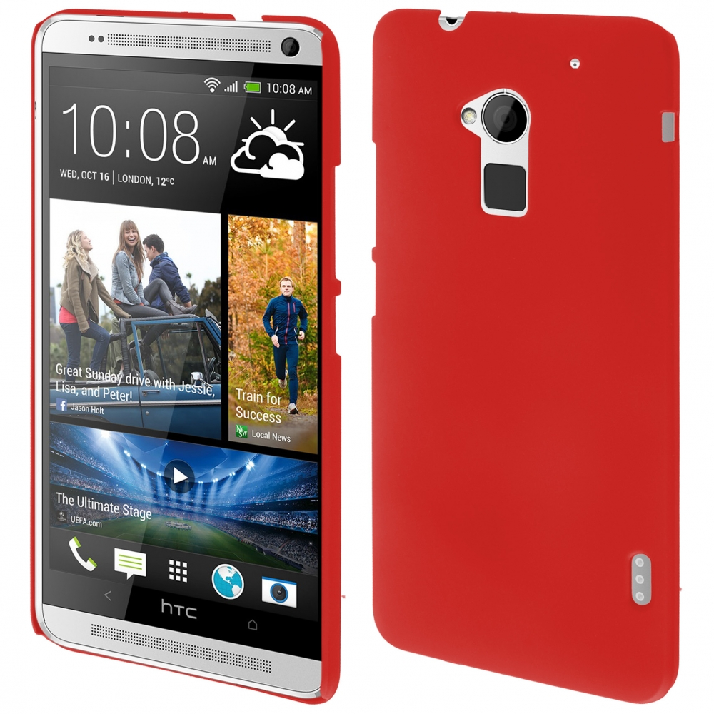 Coby Exclusive kryt HTC Max (T6) red / červený