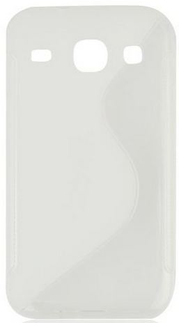 S Case pouzdro Samsung G350 Galaxy Core Plus transparent white