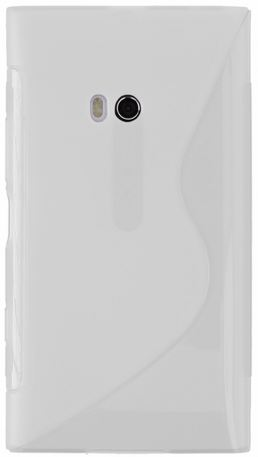 S Case pouzdro Nokia 900 Lumia transparent white