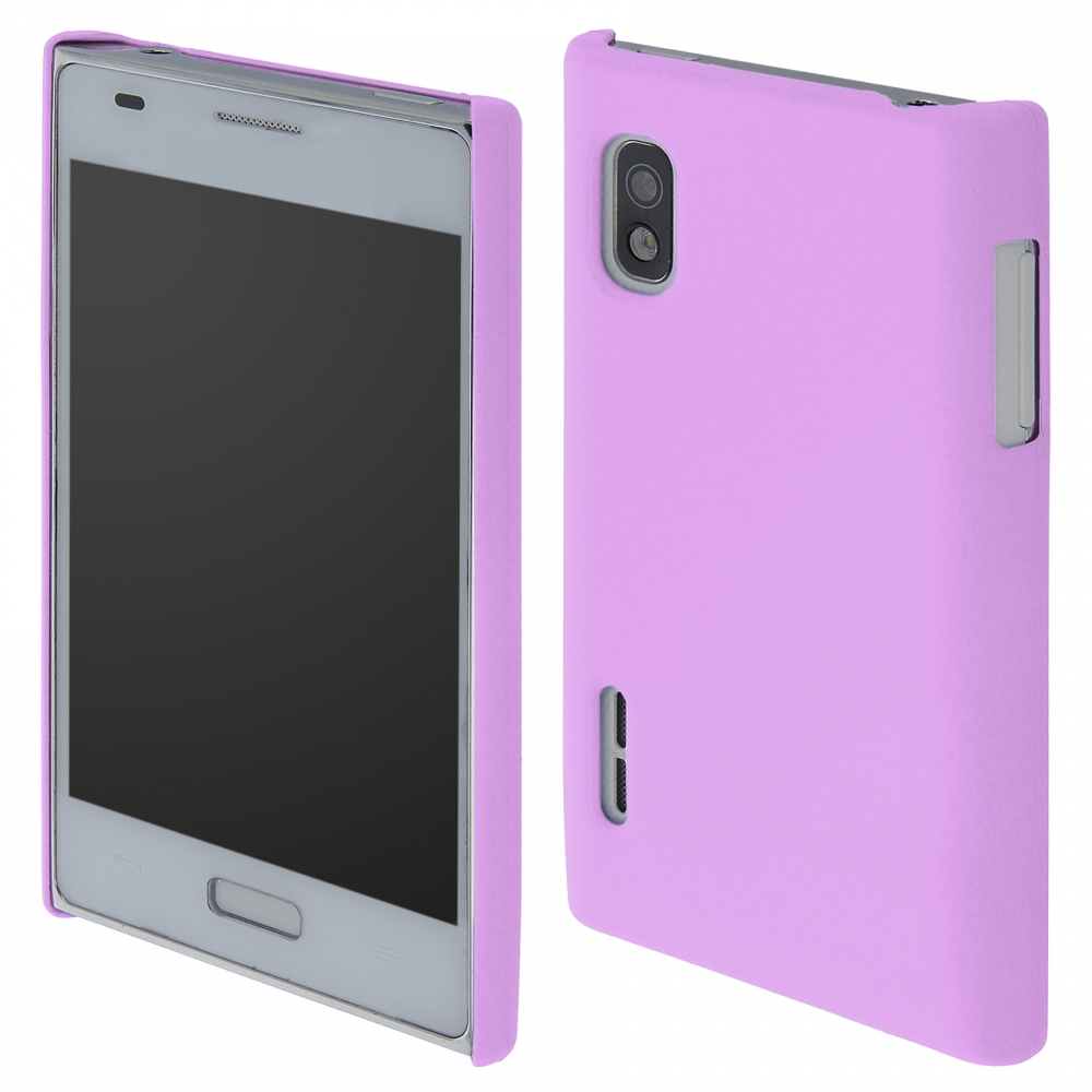 Coby Exclusive kryt LG E610 Optimus L5 purple / fialový