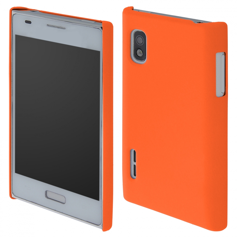 Coby Exclusive kryt LG E610 Optimus L5 orange / oranžový