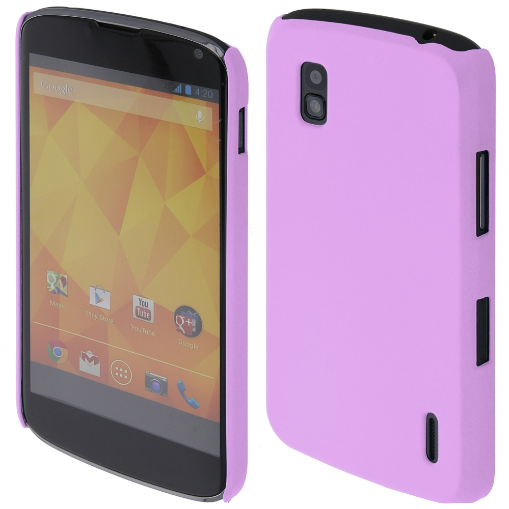 Coby Exclusive kryt LG E960 Nexus 4 purple / fialový