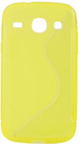 S Case pouzdro Samsung G350 Galaxy Core Plus yellow / žluté
